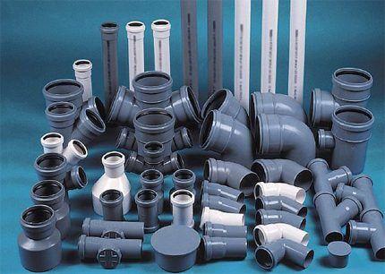 Пластиковые трубы для сетей канализации