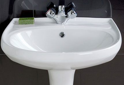 Раковина ванной по стандарту