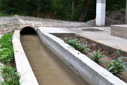 Арычная ливневая канализация
