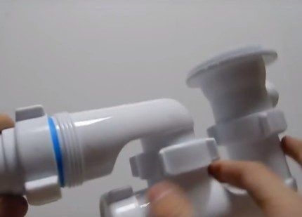 Присоединения патрубка к гофрированной трубе