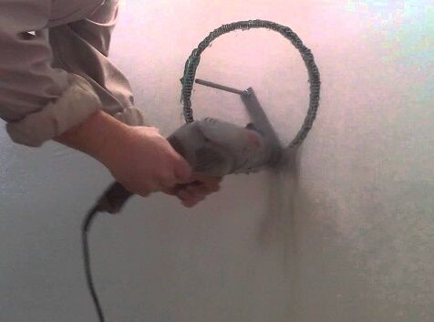 Отверстие в стене для вытяжки своими руками
