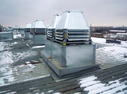 Крышные вентиляторы