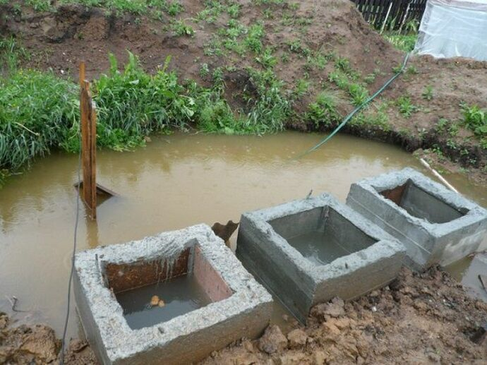 Септик для высоких грунтовых вод: что делать 55