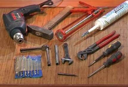 Минимальный комплект подручных инструментов