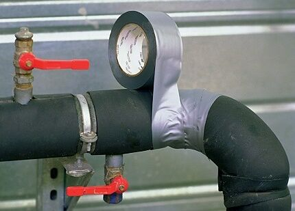 герметизация стыков чугунной канализации
