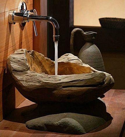 Дизайнерская раковина для ванной
