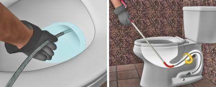 Выбор тросика для прочисти канализации
