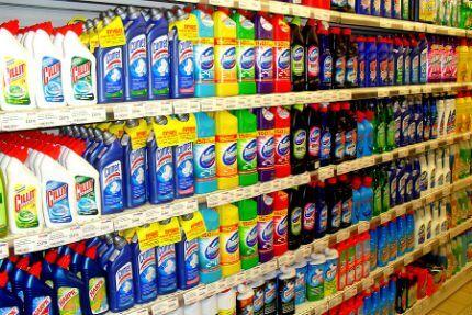 Специализированные средства для прочистки унитаза