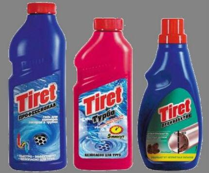 Средство для чистки Tiret