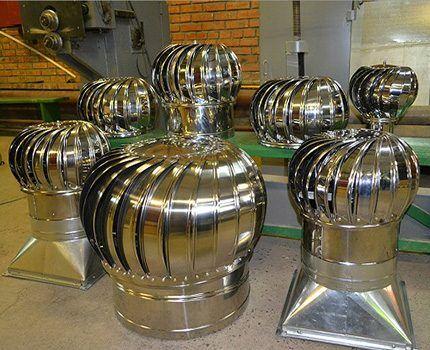 What do rotary turbines look like?