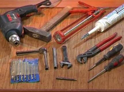 Инструменты, необходимые при работе