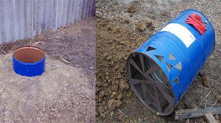 Выгребная яма-дренаж для дачного туалета