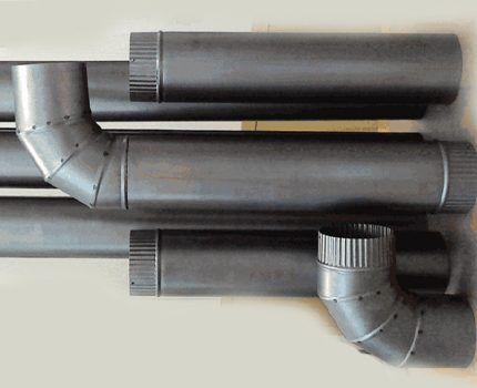 Металлические жаропрочные трубы и переходники