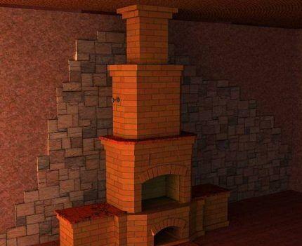 Облицовка стен негорючей плиткой