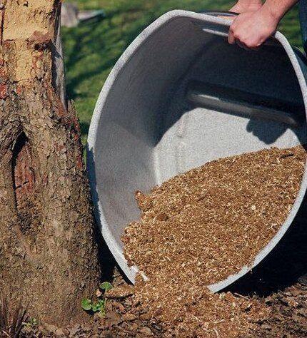 Использование торфа как утеплителя корневой системы
