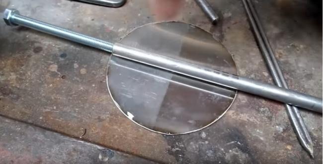 Как сделать тиски из трубы