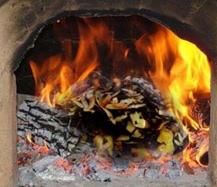 Сжигание картофеля