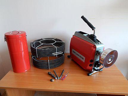 Электрооборудование для прочистки канализации