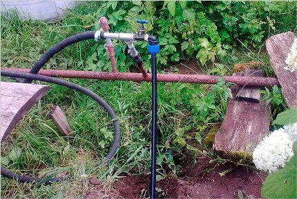Металлический водопровод