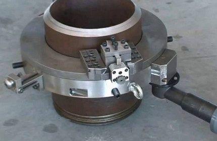 Разъемный электрический труборез для стали