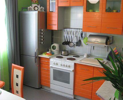 Розетки на технически оснащенной кухне
