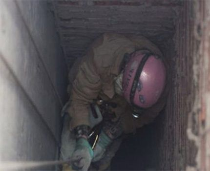 Прочиста вентиляционной шахты многоквартирного дома