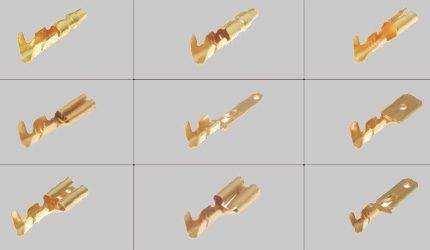 Клеммы электрические ножевые