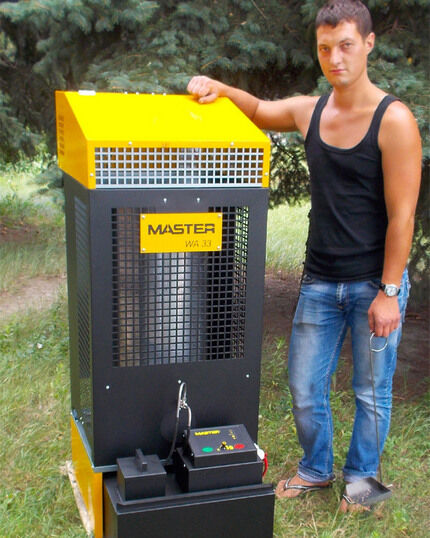 Furnace to work out for the service station