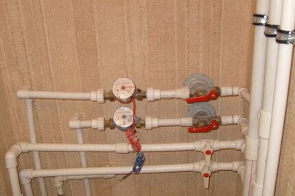 Обустройство ввода водопровода