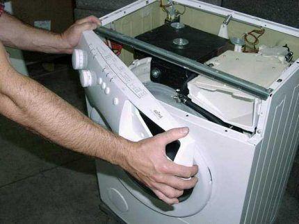 Разборка стиральной машины