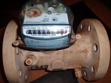 Турбинный газовый счетчик