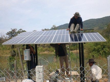 Сборка и монтаж солнечной панели
