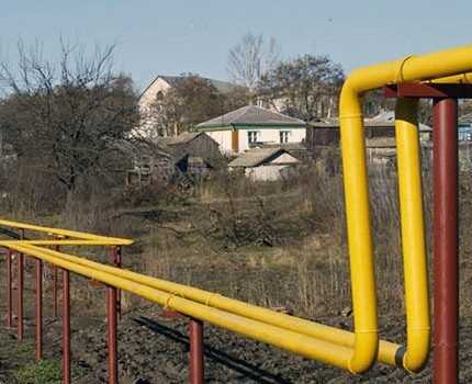 Air or surface gas pipeline