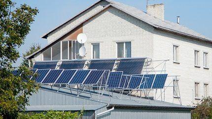 Полноценная самодельная солнечная станция