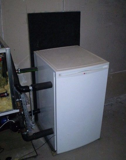 Самодельный теплонасос из холодильника