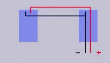 Вариант исполнения параллельной схемы