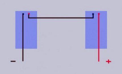 Особенность подключения при последовательной схеме