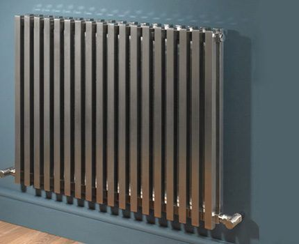 Stainless steel radiator body