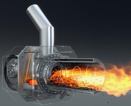 Горелка объемного горения