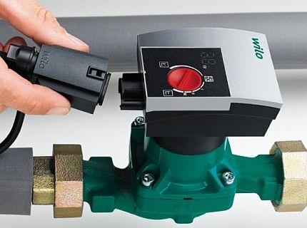 Pump with autoregulation Wilo Yonos Pico