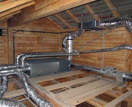 Вентиляционная система в ванной