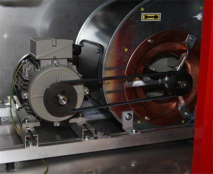 Рекуператор тепла роторного типа