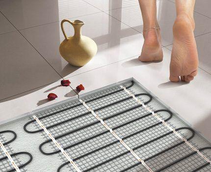 Теплый пол в системе отопления