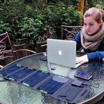 Складная зарядка для ноутбука