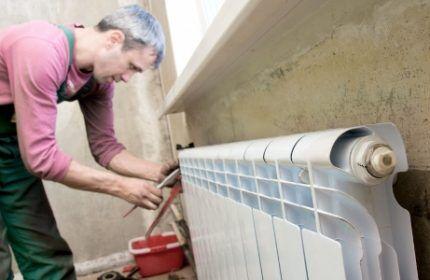 Недостатки алюминиевых радиаторов