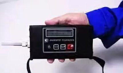 Analyzer leak detector