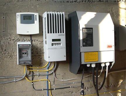 Вариант управления автономным энергоснабжением