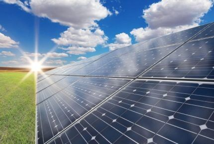 Работа солнечных батарей
