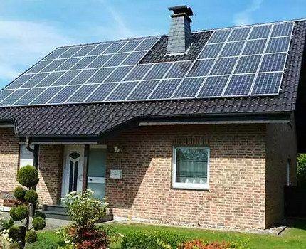 Солнечные панели для жилого дома