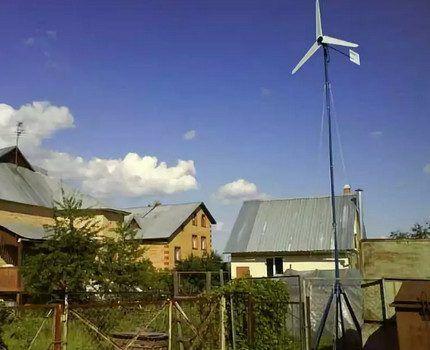 Ветряной генератор для жилого дома